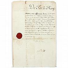 Louis XVI of France Military Pass References the United States