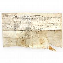 Louis XIV of France Document Signed