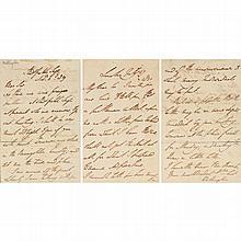 Three Items Signed by Arthur Wellesley, 1st Duke of Wellington