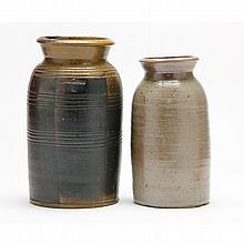 J.D. Craven Two Canning Jars, Randolph / Moore Co., NC, 1827-1895