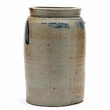 Stoneware Two Gallon Presentation Storage Jar