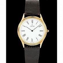 Gent's 14KT Watch, Concord