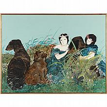 Stephen White (NC), Women with Dogs