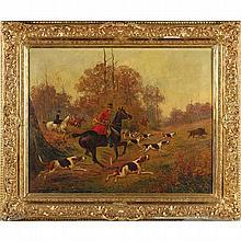 Walter Reeves (Br., fl. 1882-1900),  Boar Hunting