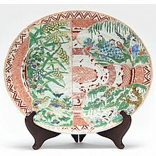 Unusual Chinese Porcelain Platter