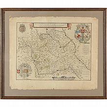 Willem Janszoon Blaeu, Map of Flanders