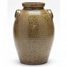 NC Pottery Two Gallon Storage Jar, James Franklin Seagle (1829-1892)