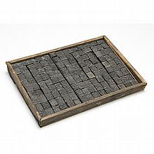 Wooden Tray of Chinese Moveable Type