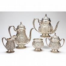 Fisher Sterling Silver Tea & Coffee Service