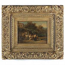 Karel Frans Philippeau (Dutch, 1825-1897), Italian Celebration
