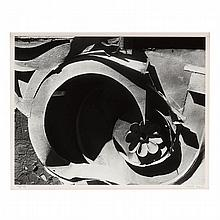 Walker Evans (1903-1975), Tin Relic with Rosette Motif