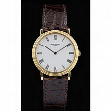 Gent's 18KT Calatrava Watch, Patek Philippe