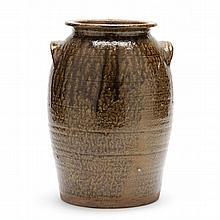 NC Pottery Storage Jar, Thomas Ritchie (Lincoln County, 1825-1909)