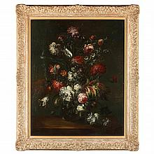 17th Century Dutch Style Still Life with Flowers
