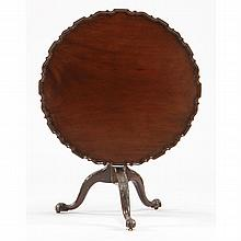 George III Tilt-Top Pie Crust Tea Table