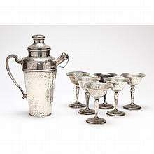 Vintage Sterling Silver Cocktail Set