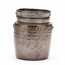 NC Pottery Small Storage Jar, Poley Hartsoe (Catawba County, 1876-1960)