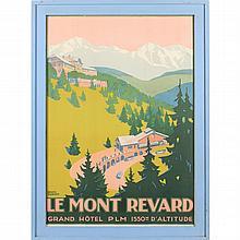 Roger Broders (Fr., 1883-1953), Le Mont Revard