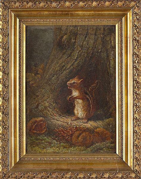 Ernest Pease (PA, b. 1846), Chipmunk