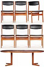 Dyrlund Smith Dining Table and Chairs, Denmark