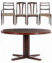 Assembled Danish Rosewood Dining Set