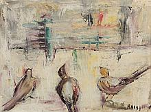 American School (20th century), Three Birds