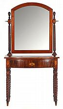 Late Federal Inlaid Dressing Table