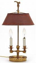 French Republic Style Bouillotte Lamp