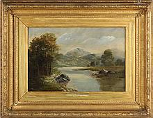 J. Royle (English, 19th century), Landscape