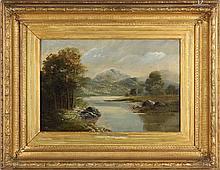J. Royle (English, 19th century), Landscape