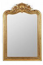 Victorian Rococo Revival Overmantel Mirror