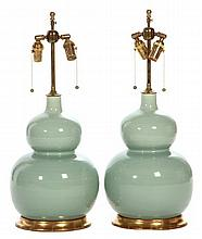 Pair of Christopher Spitzmiller Table Lamps