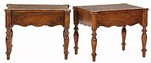 Pair of William IV Style Low End Tables