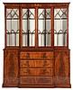 Federal Style Inlaid Breakfront