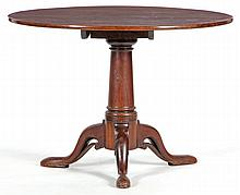 Irish Queen Anne Tilt Top Tea Table