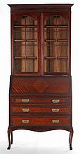 Edwardian Secretary Bookcase