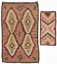 Two Conforming Navajo Wool Rugs