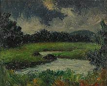 Paul Bartlett (NC, 1881-1965), Landscape