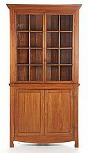 North Carolina Federal Corner Cupboard