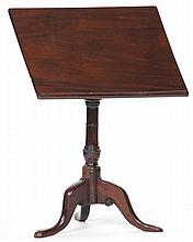 English Tilt Top Book or Music Stand