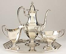 Reed & Barton Sterling Silver Demitasse Set