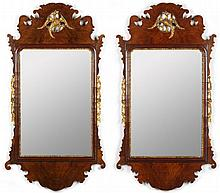 Pair of English Chippendale Wall Mirrors