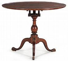 Pennsylvania Queen Anne Tilt Top Tea Table