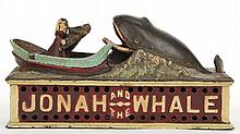 Jonah & the Whale Mechanical Bank