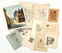 An Interesting Archive of Prints & Drawings