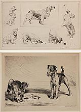 Diana Thorne (1894-1963), Two Etchings