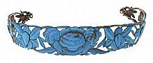 Ornate Art Deco Kingfisher Headband
