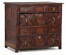 William and Mary Transitional Chest