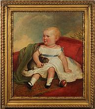 English School Portrait of a Child, circa 1840