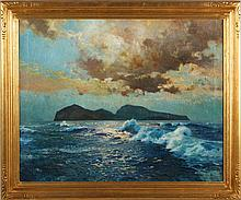 John Gleich (German, b. 1879), Seascape